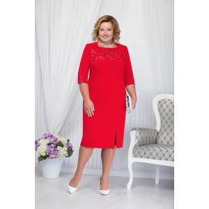 NINELE 2167 Платье (красный)