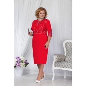 NINELE 2168 Платье (красный)