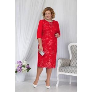 NINELE 2170 Платье (красный)