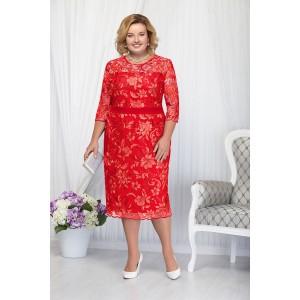 NINELE 2173 Платье (красный)