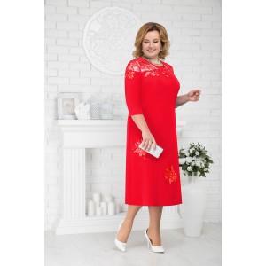 NINELE 2175 Платье (красный)