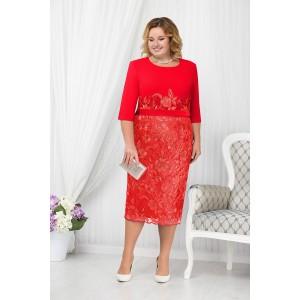 NINELE 2177 Платье (красный)