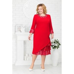 NINELE 2182 Платье (красный)