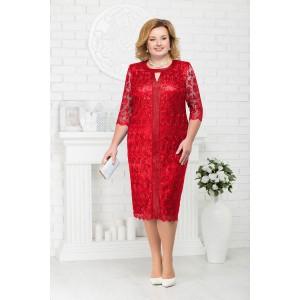 NINELE 2183 Платье (красный)