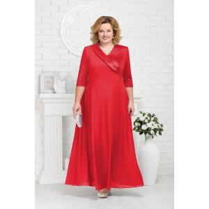 NINELE 2184 Платье (красный)