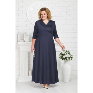 NINELE 2184 Платье (синий)