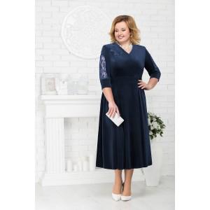 NINELE 2187 Платье (синий)