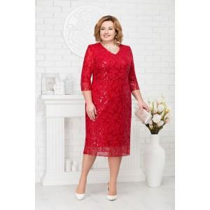NINELE 2188 Платье (красный)
