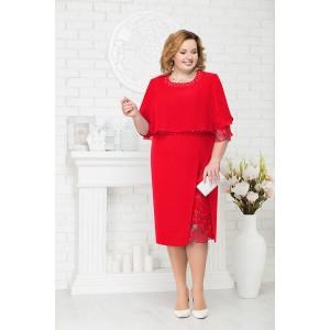 NINELE 2191 Платье (красный)