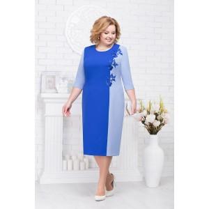 NINELE 2194 Платье (василек/голубой)