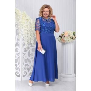 NINELE 2195 Платье (василек)