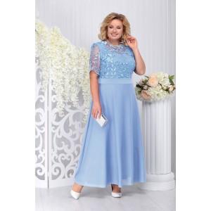 NINELE 2195 Платье (голубой)