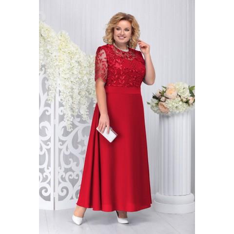 NINELE 2195 Платье (красный)