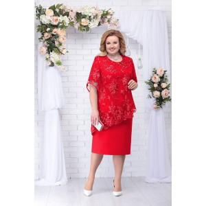 NINELE 2199 Платье (красный)