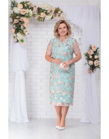 NINELE 2205 Платье (мята)