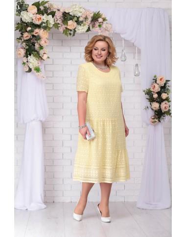 NINELE 2206 Платье (желтый)