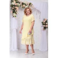 NINELE 2208 Платье (желтый)