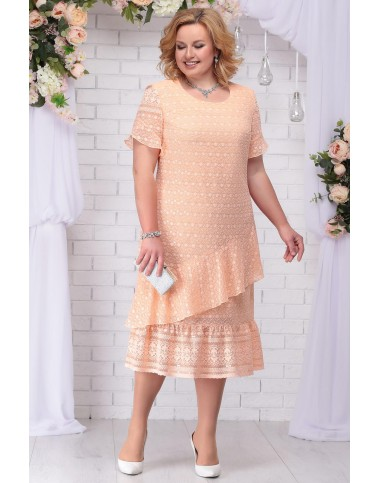 NINELE 2208 Платье (персик)