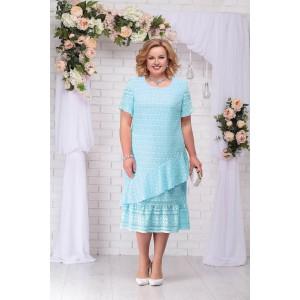 c089ab02883f81c NINELE 2208 Платье (мята)