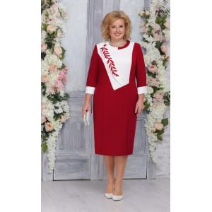 NINELE 2224 Платье (красный)