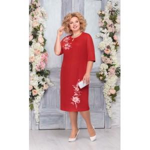 NINELE 2227 Платье (красный)