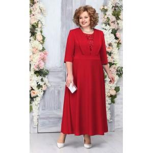 NINELE 2229 Платье (красный)