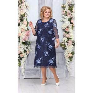 NINELE 2230 Платье (синий)