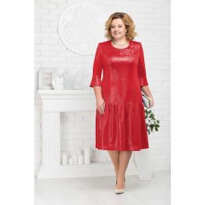 NINELE 3180 Платье (красный)