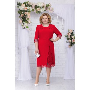 NINELE 361 Платье (красный)