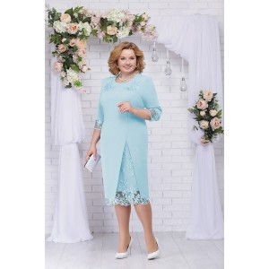 NINELE 361 Платье (светло-голубой)