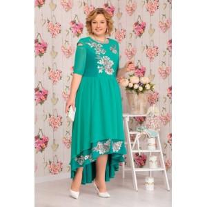 NINELE 5504 BM Платье (зеленый)