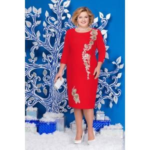 NINELE 5587 Платье (красный)