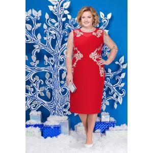 NINELE 5588 Платье (красный)