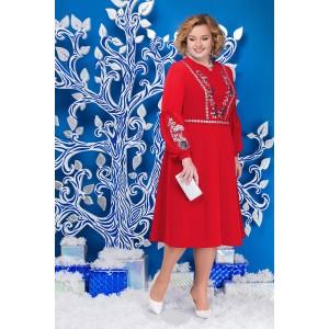 NINELE 5590 Платье (красный)
