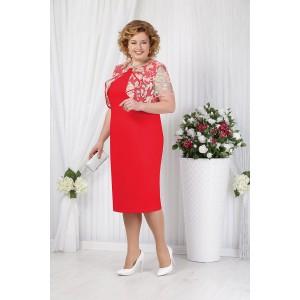 NINELE 5621 Платье (красный)