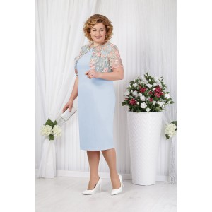 NINELE 5621 Платье (голубой)