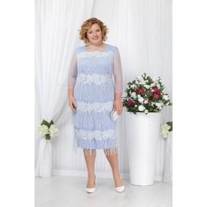 NINELE 5622 Платье (голубой)