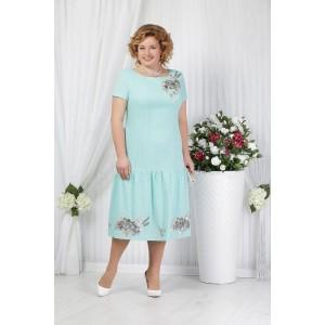 NINELE 5623 Платье (светло-зеленый)