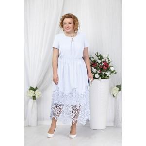 NINELE 5631 Платье (белый)