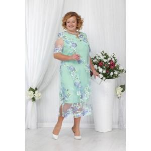 NINELE 5642 Платье (светло-зеленый)