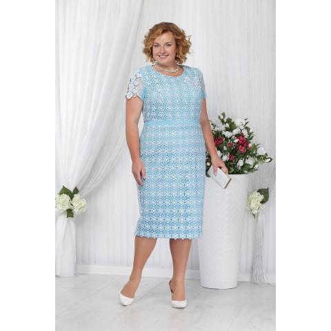 NINELE 5644 Платье (голубой)