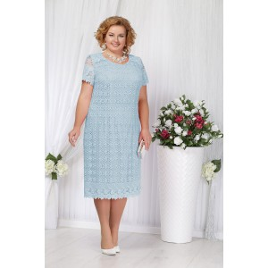 NINELE 5647 Платье (голубой)
