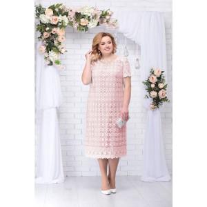 NINELE 5647 Платье (пудра)