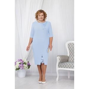 NINELE 5648 Платье (голубой)