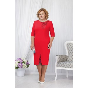 NINELE 5648 Платье (красный)