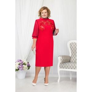 NINELE 5650 Платье (красный)