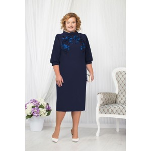NINELE 5650 Платье (синий)
