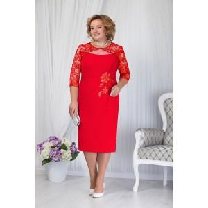 NINELE 5651 Платье (красный)