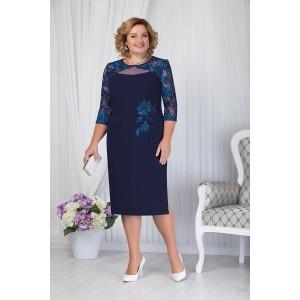 NINELE 5651 Платье (синий)