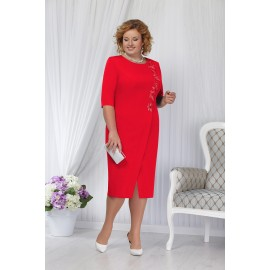 NINELE 5652 Платье (красный)..